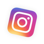 instagram icon floating above sales funnel